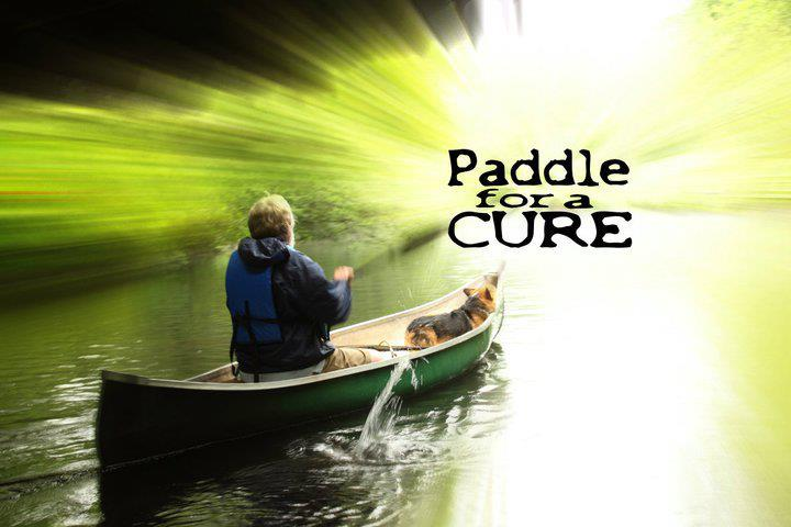 paddle for a cure graphic