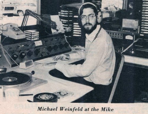 michael weinfeld at the mike