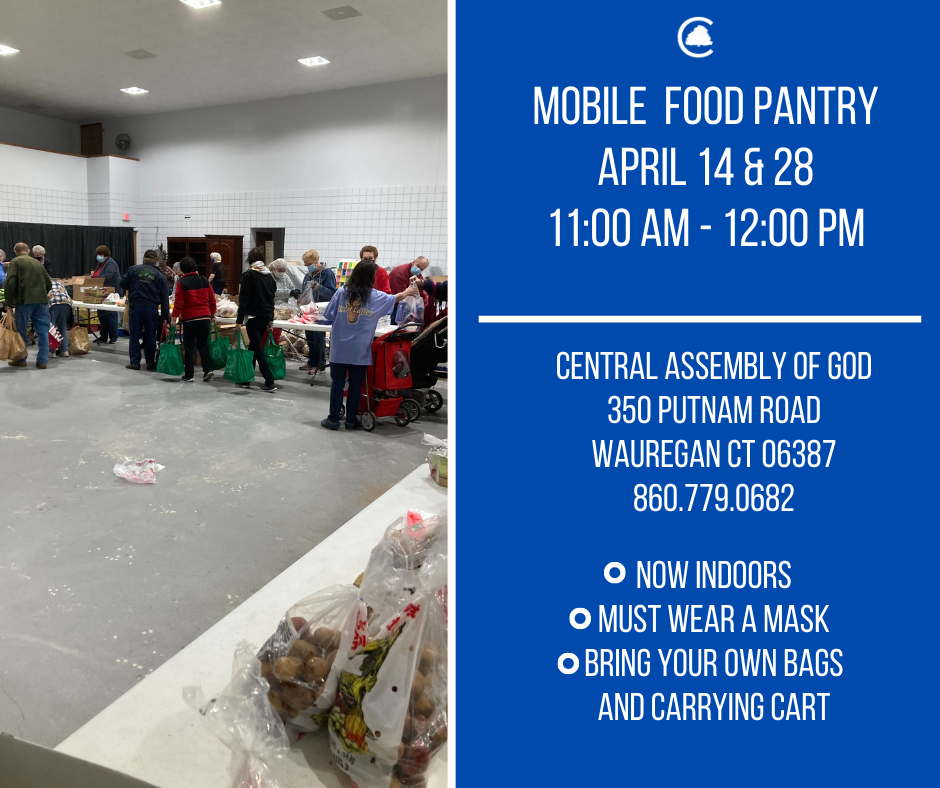 Mobile Food Pantry @ Central Assembly of God